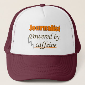 Casquette Le journaliste Powered by caffeine