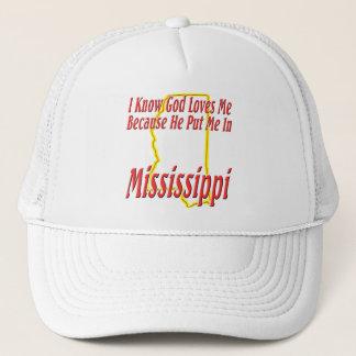 Casquette Le Mississippi - Dieu m'aime