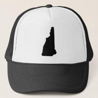 Casquette Le New Hampshire en noir et blanc