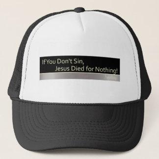 Casquette Le péché est bon