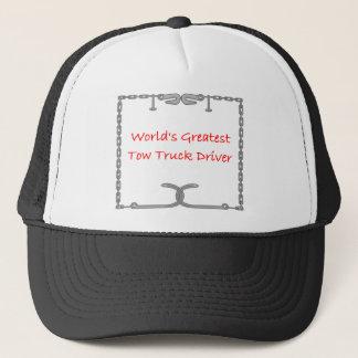 Casquette Le plus grand conducteur de dépanneuse des mondes