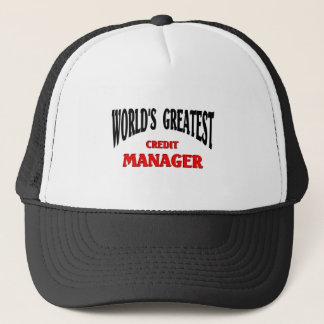Casquette Le plus grand directeur de crédit