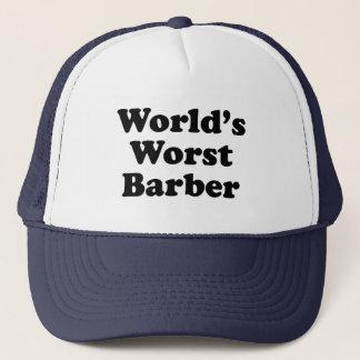 Casquette Le plus mauvais coiffeur du monde
