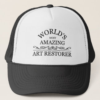 Casquette Le restaurateur de l'art le plus extraordinaire du