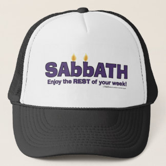 Casquette Le sabbat avec des bougies apprécient le RESTE de