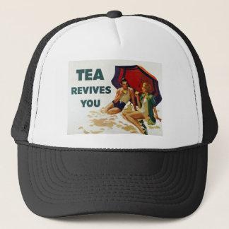 Casquette Le thé vous rétablit