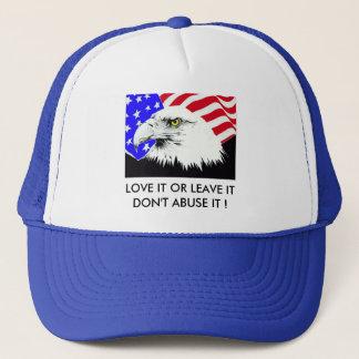 Casquette l'eagle_flag, L'AIMENT OU LE LAISSENT À ABUS