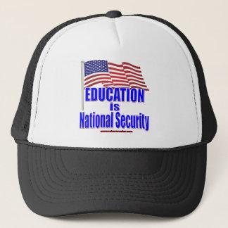 Casquette L'éducation est sécurité nationale (la chemise)