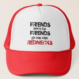 Casquette Les amis ne laissent pas des amis