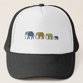 Casquette Les éléphants n'oublient jamais