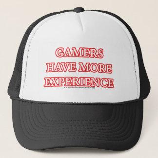 Casquette Les Gamers ont plus d'expérience