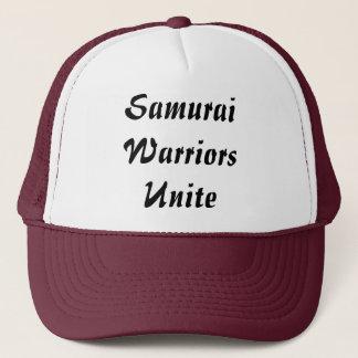 Casquette Les guerriers samouraïs unissent