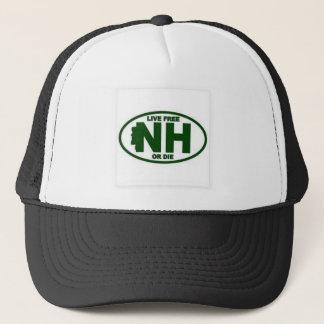 Casquette Les honoraires vivants du New Hampshire ou meurent