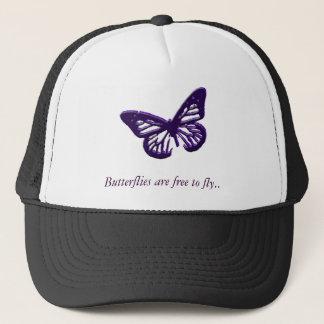 Casquette Les papillons sont libres pour voler