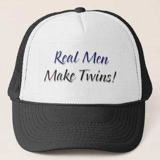 Casquette Les vrais hommes font des jumeaux !