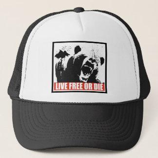 Casquette Libres vivants ou meurent