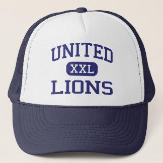 Casquette - Lions - lycée uni - Armagh Pennsylvanie