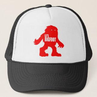 Casquette Logo adorable de LI'L BIGFOOT - Sasquatch rouge