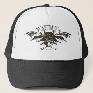 Casquette Logo d'ailes chauve-souris de capot de crâne de