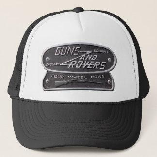 Casquette Logo de fusil de chasse d'armes à feu et de