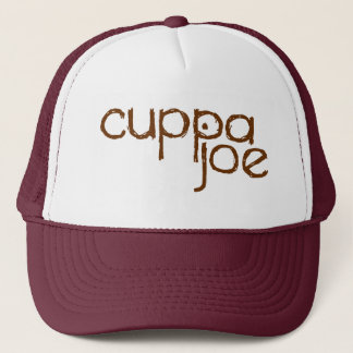 Casquette logo de Joe de tasses de thé dans le brun -