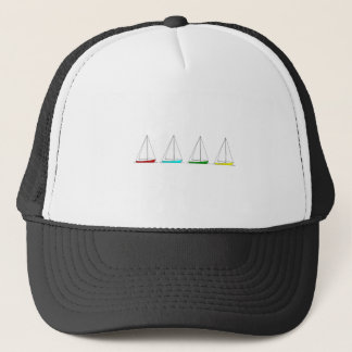 Casquette Logo de voiliers de sloop (couleur)