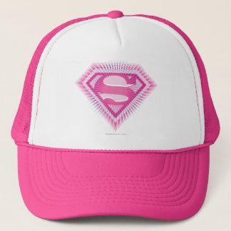 Casquette Logo rose de Supergirl