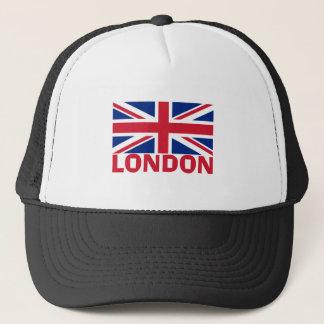 Casquette Londres en rouge