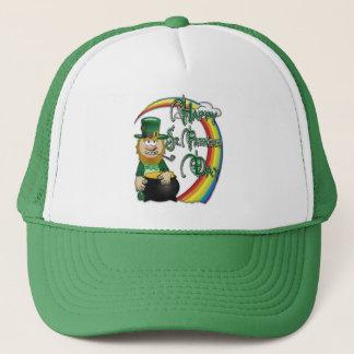 Casquette Lutin heureux de Jour de la Saint Patrick