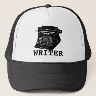 Casquette Machine à écrire antique d'auteur
