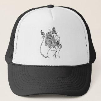 Casquette Magicien d'Oz vintage, lion lâche avec la couronne