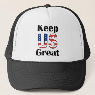 Casquette Maintenez les USA grands