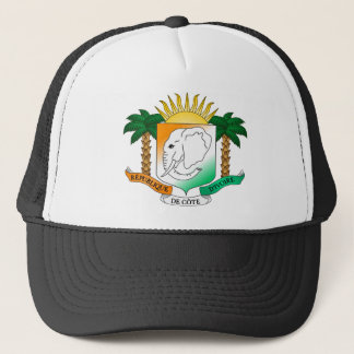 Casquette Manteau de la Côte d'Ivoire des bras