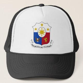 Casquette Manteau de Philippines des bras