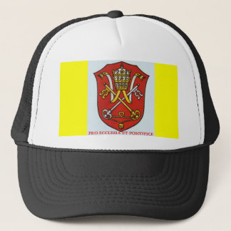 CASQUETTE MANTEAU DES BRAS CATHOLIQUE TRADITIONNEL PAPAL