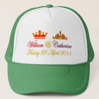 Casquette Mariage royal de William et de Catherine