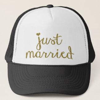 Casquette marié de camionneur de cadeau de mariage