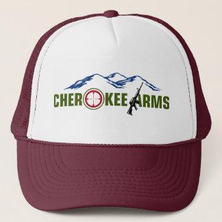 Casquette marron de bras cherokee