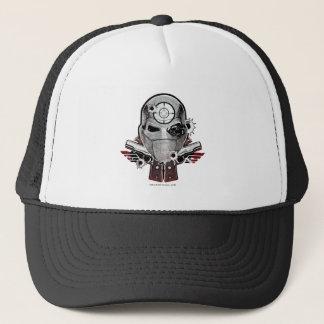 Casquette Masque du peloton | Deadshot de suicide et art de