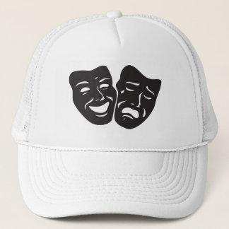 Casquette Masques de théâtre de drame de tragédie de comédie