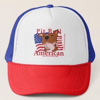 Casquette maximum d'Américain de pitbull