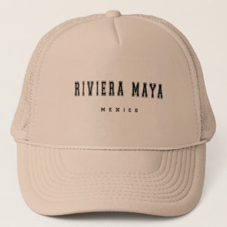 Casquette Maya Mexique de la Riviera