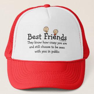 Casquette Meilleurs amis