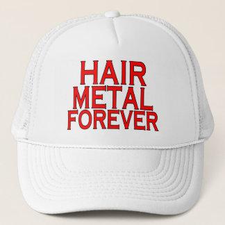 Casquette Métal de cheveux pour toujours