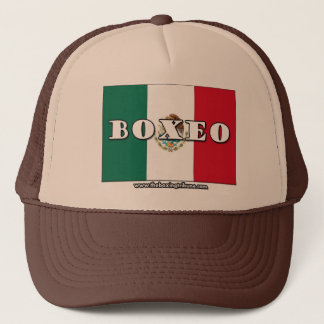 Casquette mexicain de boxe