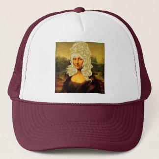 Casquette Mona Lisa blonde
