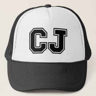 """Casquette Monogramme de """"CJ"""""""
