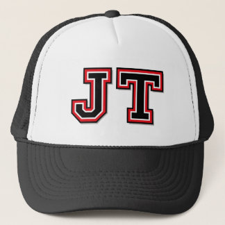 """Casquette Monogramme de """"JT"""""""