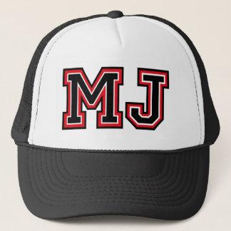 """Casquette Monogramme de """"MJ"""""""