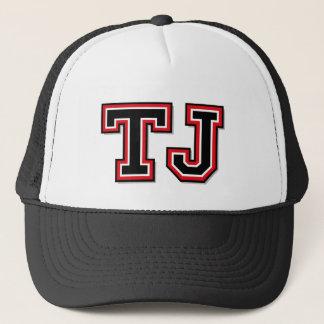 """Casquette Monogramme de """"TJ"""""""